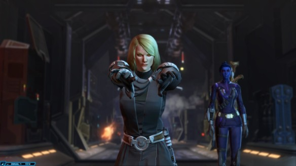 Lana Beniko in Star Wars: The Old Republic.