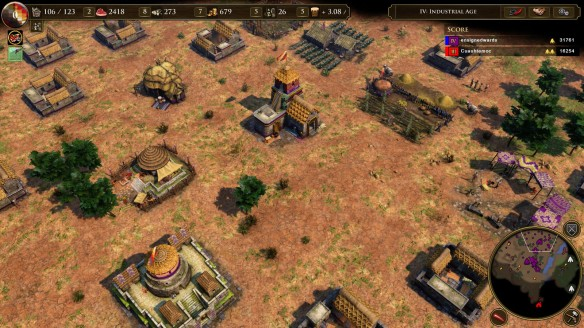 The new Inca civilization in the Age of Empires III Definitive Edition.