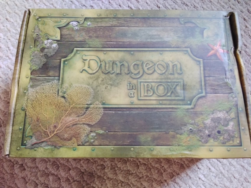 An adventure box from Dungeon in a Box