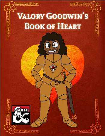Cover art for Valory Goodwin's Book of Heart, a collection of positive player options for Fifth Edition.