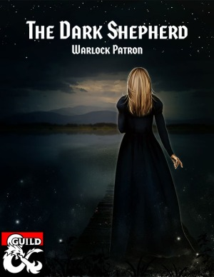 Cover art for the Dark Shepherd, a new warlock patron for 5E available on Dungeon Masters Guild.